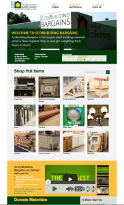 Website for EcoBuilding Bargains